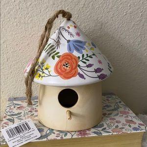 Beautiful ceramic bird house